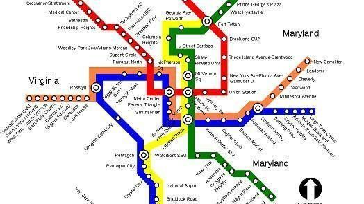 Real Dc Subway Map.Glenn Beck Rally Attendees Warned Of Dangers Of Dc Metro Huffpost