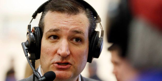 U.S. Sen. Ted Cruz, R-Texas, a tea party favorite and possible presidential candidate in 2016, is interviewed by Skip Murphy