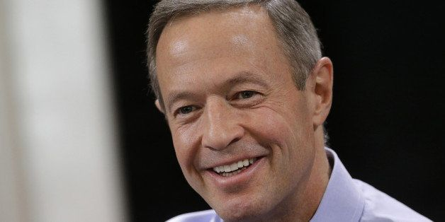FILE - In this Jan. 16, 2015 photo, Maryland Gov. Martin O'Malley speaks with reporters during a roundtable interview at the