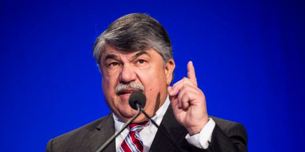 UNITED STATES - FEBRUARY 10: AFL-CIO president Richard Trumka delivers his keynote address to the BlueGreen Alliance Foundati
