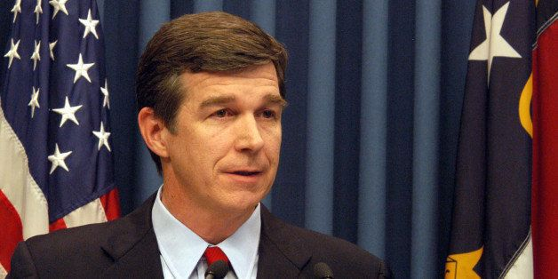 North Carolina Attorney General Roy Cooper answers questions, Saturday Jan. 13, 2007, in Raleigh, N.C. after he announced tha