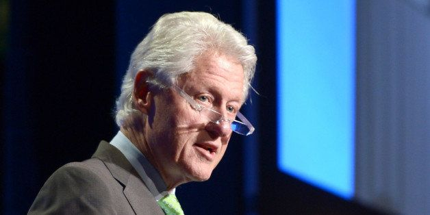 MIAMI, FL - MARCH 06: Former President Bill Clinton attends Clinton Global Initiative University - Fast Forward: Accelerating