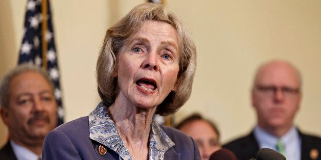 Rep. Lois Capps, D-Calif., who represents Santa Barbara, Calif., where a mentally unstable man fatally shot and stabbed six p