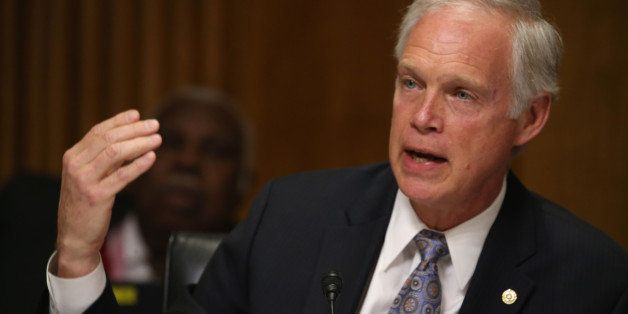 WASHINGTON, DC - MARCH 10:  Sen. Ron Johnson (R-WI) participates in a Senate Foreign relations Committee hearing on Capitol H
