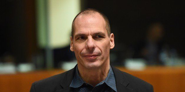 Greece's Finance Minister Yanis Varoufakis attends an economic and financial affairs council (ECOFIN) at the European Council