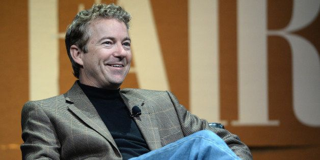 SAN FRANCISCO, CA - OCTOBER 08:  U.S. Senator of Kentucky Rand Paul speaks onstage during 'Why Can't Tech Save Politics?' at