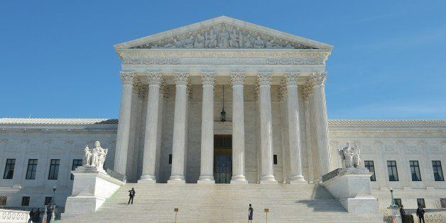 A March 12, 2015 photo shows the US Supreme Court in Washington, DC. AFP PHOTO/MANDEL NGAN        (Photo credit should read M