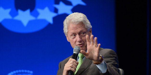 MIAMI, FL - MARCH 06: Former President Bill Clinton attends Clinton Global Initiative University - Fast Forward: Accelerating