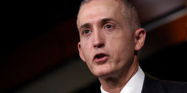 House Select Committee on Benghazi Chairman Rep. Trey Gowdy, R-S.C. speaks at a news conference on Capitol Hill in Washington