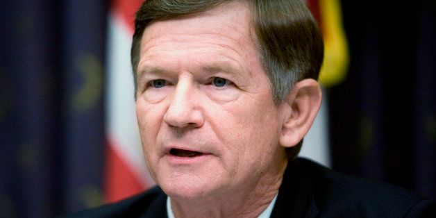 WASHINGTON - JUNE 20:  Committee ranking member Representative Lamar Smith (R-TX)speaks during a hearing of the House Judicia
