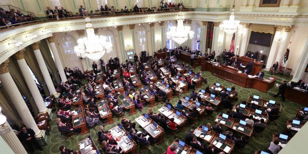 The California State Assembly met for an organizational session where lawmakers took the oath of office at the Capitol in Sac