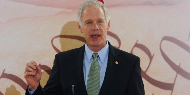 Sen. Ron Johnson, R-Wisc., speaks at the Faith and Freedom Coalition Road to Majority Conference in Washington, Thursday, Jun