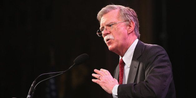 DES MOINES, IA - JANUARY 24:  Former Ambassador to the United Nations John Bolton speaks to guests  at the Iowa Freedom Summi