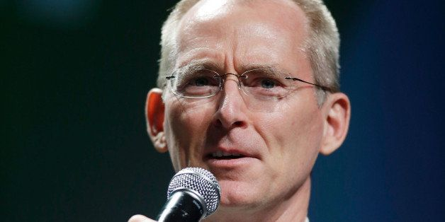 LAS VEGAS, NV - AUGUST 13:  Former Rep. Bob Inglis (R-SC) speaks during the National Clean Energy Summit 6.0 at the Mandalay