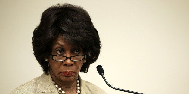 WASHINGTON, DC - JUNE 28:  U.S. Rep. Maxine Waters (D-CA) listens during a discussion June 28, 2013 on Capitol Hill in Washin