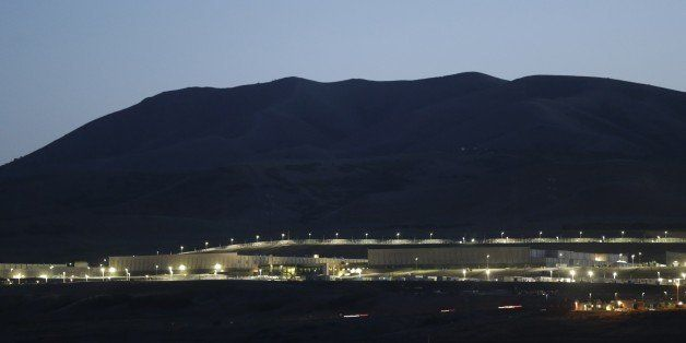 This Monday, June 10, 2013 photo shows a ground level view of Utah's NSA Data Center in Bluffdale, Utah.  The nation's new bi