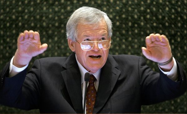 Hastert served as speaker of the House from 1999 to 2007, and is the longest-serving Republican speaker in U.S. history.