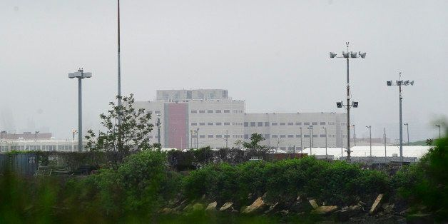 A view of Riker's Island penitentiary complex where IMF head Dominique Strauss-Kahn is being held, in New York, May 17, 2011.