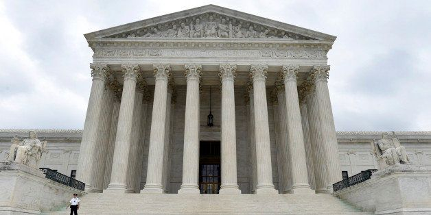 FILE - This Friday, Oct. 3, 2014 file photo, shows the U.S. Supreme Court in Washington. The Supreme Court is casting a skept