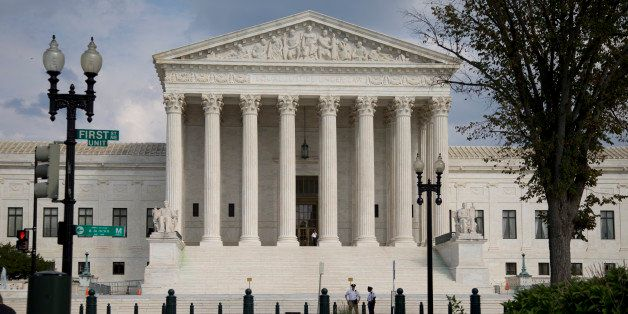 FILE - The Supreme Court Building is shown in this, Thursday, Sept. 18, 2014 file photo in Washington. President Barack Obama