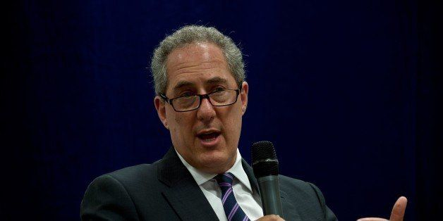 US Trade Representative Michael Froman addresses a panel discussion in Kuala Lumpur on May 7, 2015. US President Barack Obama