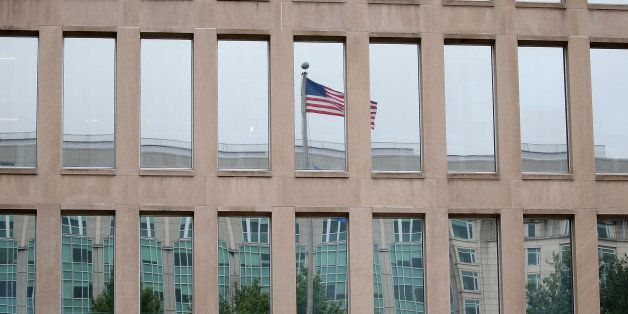WASHINGTON, DC - JUNE 05:  The Theodore Roosevelt Federal Building that houses the Office of Personnel Management headquarter