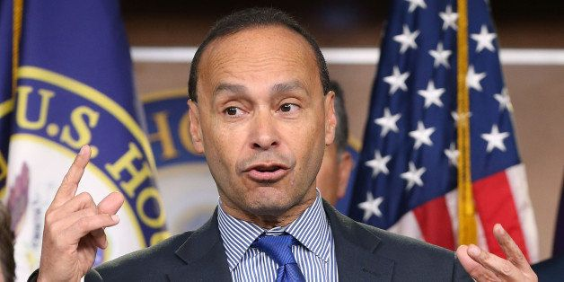 WASHINGTON, DC - JANUARY 13:  Rep. Luis Gutierrez (D-IL) speaks about immigration during a news conference on Capitol Hill, J