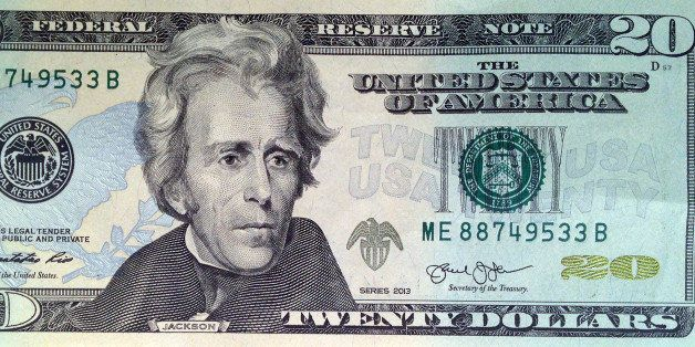 A likeness of Andrew Jackson, seventh President of the United States, adorns the front of $20 bill Friday, April 17, 2015, in