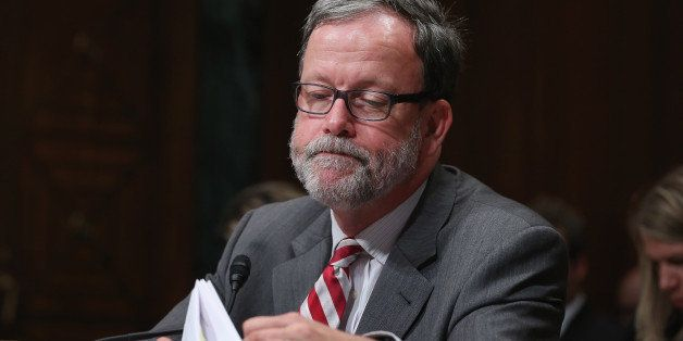 WASHINGTON, DC - JUNE 17:  Congressional Budget Office Director Keith Hall testifies before the Senate Budget Committee in th