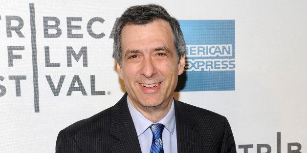 "FILE - This April 25, 2012 file photo shows journalist Howard Kurtz at the world premiere of ""Knife Fight"" during the 2012 Tr"