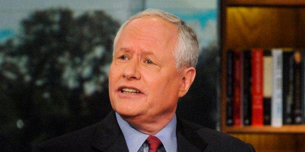 MEET THE PRESS -- Pictured: (l-r)   Bill Kristol, Founder & Editor, The Weekly Standard, appears on 'Meet the Press' in Washi