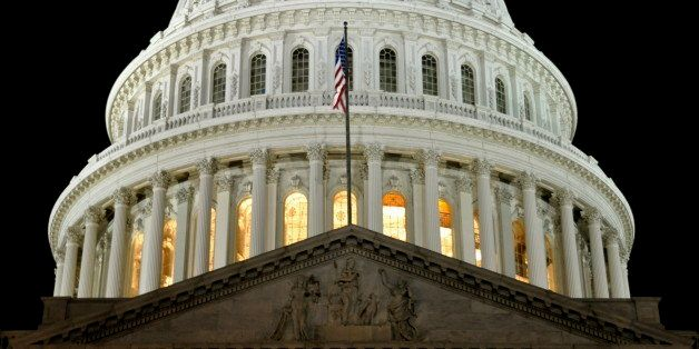 A view of the U.S. Capitol Building's Dome, taken from the east side.