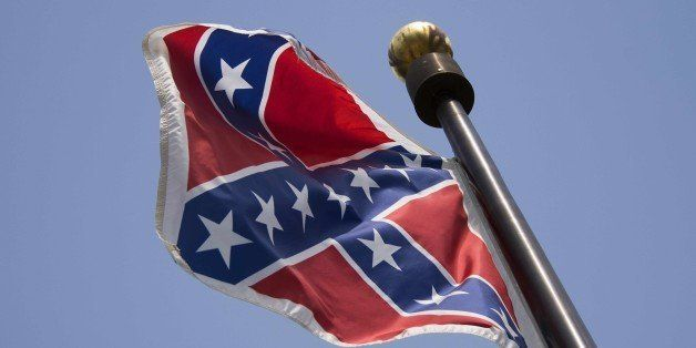 The Confederate Flag flies on the South Carolina State House grounds in Columbia, South Carolina, June 24, 2015.  The Confede