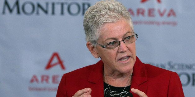 WASHINGTON, DC - JULY 07:  EPA Administrator Gina McCarthy speaks during a breakfast hosted by the Christian Science Monitor