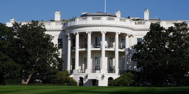 FILE - The White House in Washington, in this Tuesday, Nov. 18,2008 file photo. The Secret Service confirmed Tuesday Nov. 15,