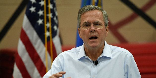 HENDERSON, NV - JUNE 27:  Republican presidential candidate and former Florida Gov. Jeb Bush speaks at a town hall meeting at