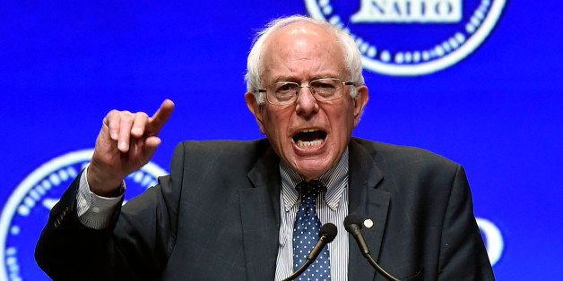 Democratic presidential candidate, Sen. Bernie Sanders, I-Vt. speaks at the National Association of Latino Elected and Appoin