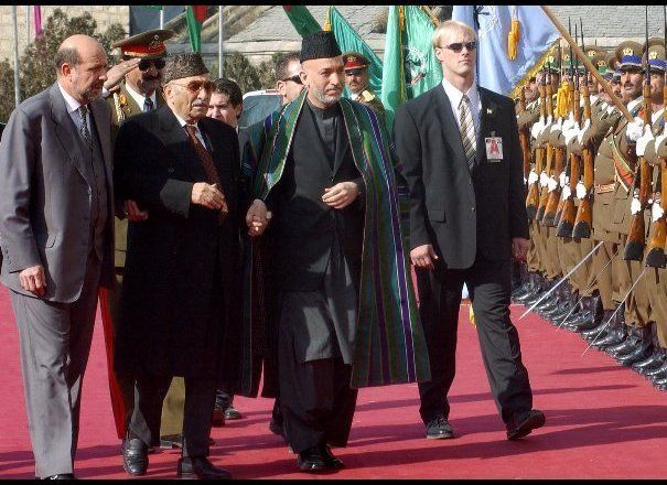 "From <em>Decision Points</em>, p. 205: ""When Karzai arrived in Kabul for his inauguration on December 22 – 102 days after 9/1"