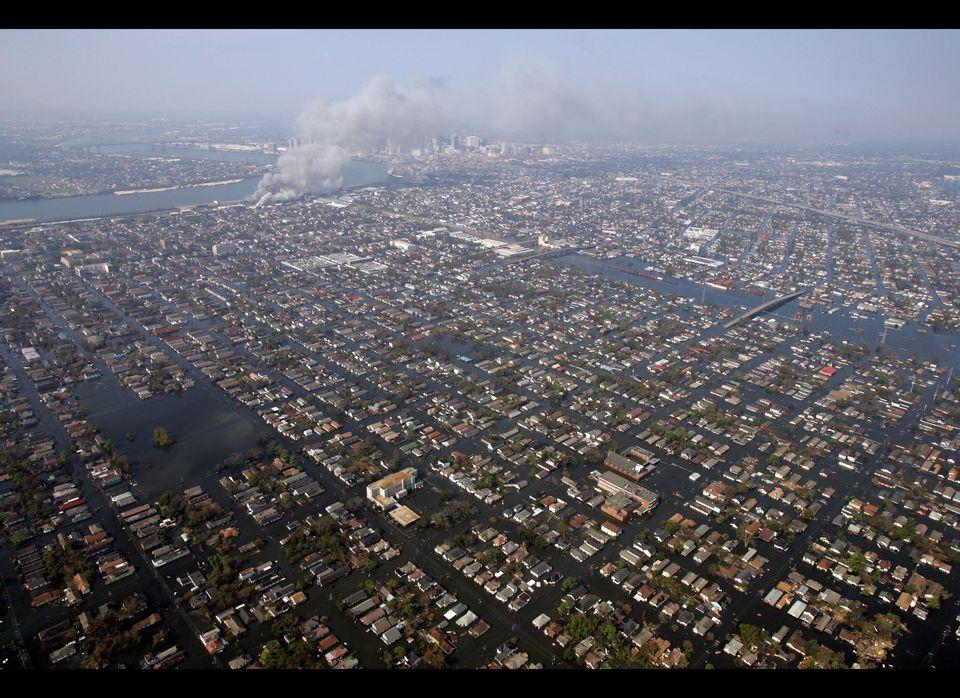 On August 29, 2005, Hurricane Katrina, a Category 3 storm, made landfall over southeastern Louisiana, wreaking havoc on New O