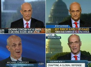 Fear Pays: Chertoff, Ex-Security Officials Slammed For Cashing In On Government