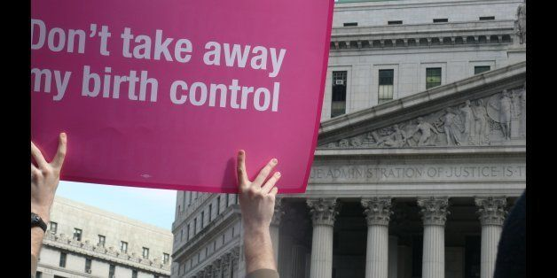 """Placard from Planned Parenthood Rally in New York City. Find out why people were protesting from Women's eNews  <a href=""""ht"""