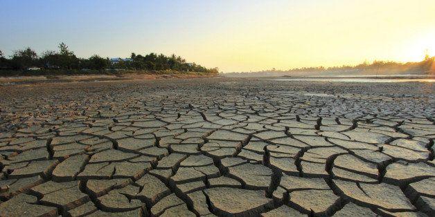 landscape global warming concept