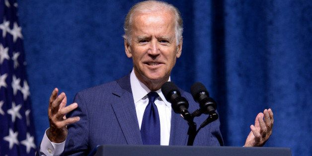 CHATTANOOGA, TN - AUGUST 15:  U.S. Vice President Joe Biden speaks at a memorial service to honor those killed In Chattanooga