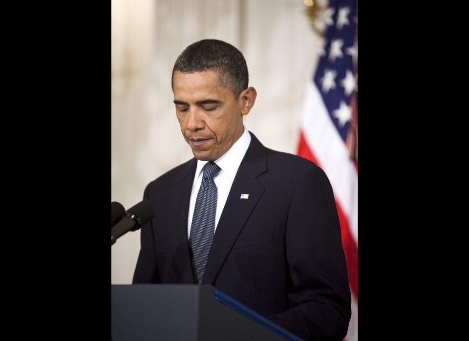 "President Barack Obama addressed the <a href=""http://www.huffingtonpost.com/2011/01/08/gabrielle-giffords-shot-c_n_806211.htm"