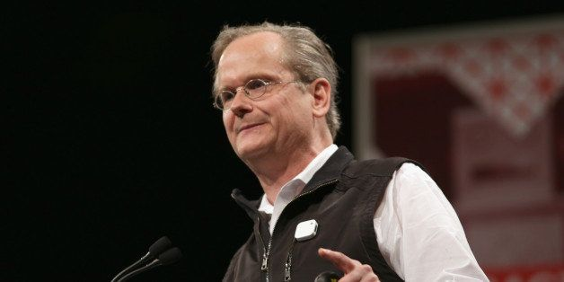 AUSTIN, TX - MARCH 14:  Lawrence Lessig, director of the Edmond J. Safra Center for Ethics at Harvard University, speaks onst