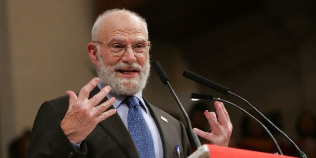 NEW YORK, NY - MAY 31:  Dr. Oliver Sacks speaks at the 'Music & the Brain' presentation at the Abyssinian Church at the World