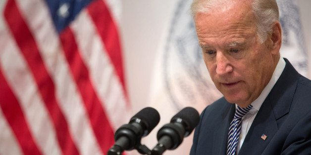 Vice President Joe Biden speaks during a news conference at the Office of the Chief Medical Examiner, Thursday, Sept. 10, 201