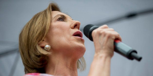 Carly Fiorina, former chairman and chief executive officer of Hewlett-Packard Co. and 2016 Republican presidential candidate,