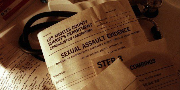 ME.Rape.0605.CC; The kit used to test victims of sexual assault at UCLA Hospital in Santa Monica where Gail Abarbanel is the