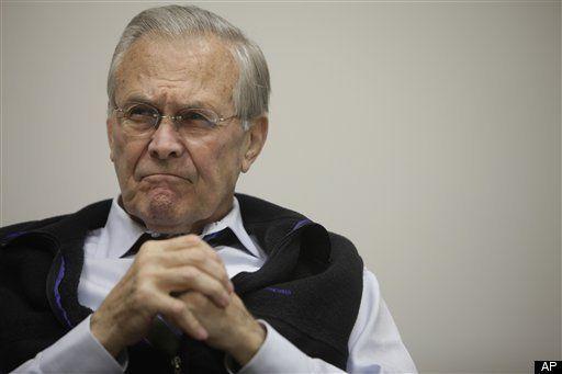 Donald Rumsfeld Challenged LBJ On Vietnam War, New Documents